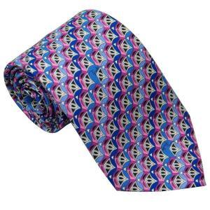 エミリオ プッチ EMILIO PUCCI 紳士ネクタイ necktie シルク100% イタリー製 P7012-6 ギフト プレゼント 贈答品 記念品|zennsannnet