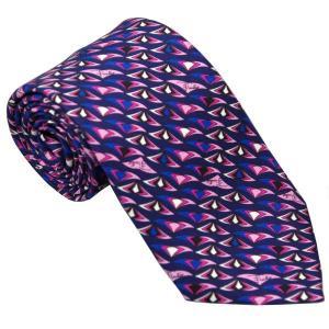 エミリオ プッチ EMILIO PUCCI 紳士ネクタイ necktie シルク100% イタリー製 P7013-1 ギフト プレゼント 贈答品 記念品|zennsannnet