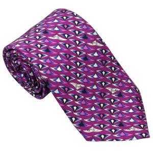 エミリオ プッチ EMILIO PUCCI 紳士ネクタイ necktie シルク100% イタリー製 P7013-3 ギフト プレゼント 贈答品 記念品|zennsannnet