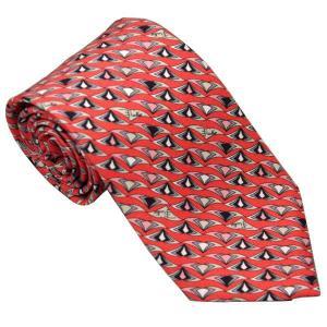 エミリオ プッチ EMILIO PUCCI 紳士ネクタイ necktie シルク100% イタリー製 P7013-4 ギフト プレゼント 贈答品 記念品|zennsannnet