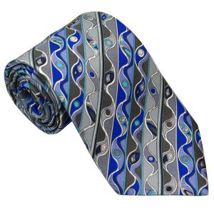 エミリオ プッチ EMILIO PUCCI 紳士ネクタイ necktie シルク100% イタリー製 P7016-2 ギフト プレゼント 贈答品 記念品|zennsannnet