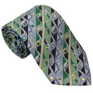 エミリオ プッチ EMILIO PUCCI 紳士ネクタイ necktie シルク100% イタリー製 P7016-5 ギフト プレゼント 贈答品 記念品|zennsannnet