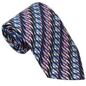 エミリオ プッチ EMILIO PUCCI 紳士ネクタイ necktie シルク100% イタリー製 P7017-1 ギフト プレゼント 贈答品 記念品|zennsannnet