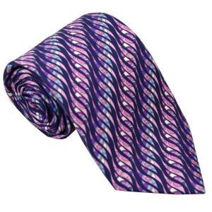 エミリオ プッチ EMILIO PUCCI 紳士ネクタイ necktie シルク100% イタリー製 P7017-2 ギフト プレゼント 贈答品 記念品|zennsannnet