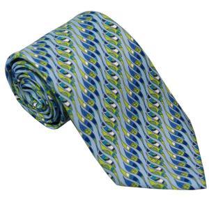 エミリオ プッチ EMILIO PUCCI 紳士ネクタイ necktie シルク100% イタリー製 P7017-5 ギフト プレゼント 贈答品 記念品|zennsannnet