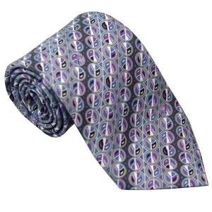 エミリオ プッチ EMILIO PUCCI 紳士ネクタイ necktie シルク100% イタリー製 P7019-2 ギフト プレゼント 贈答品 記念品|zennsannnet