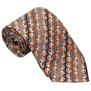 エミリオ プッチ EMILIO PUCCI 紳士ネクタイ necktie シルク100% イタリー製 P7019-4 ギフト プレゼント 贈答品 記念品|zennsannnet