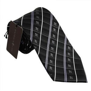 パトリック コックス ネクタイ PATRICK COX ブランドネクタイ 剣先8,5cm シルク100% ブラック系 PC004-535848 ギフト プレゼント 贈答品|zennsannnet