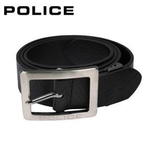 ポリス POLICE メンズベルト PLC203 ブラック|zennsannnet