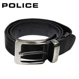 ポリス POLICE メンズベルト PLC205 ブラック|zennsannnet