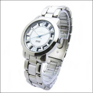 シースルーケースとベルトにセラミック駒のロセッティ【ROSSETTI】メンズ腕時計RO-014G-WH|zennsannnet