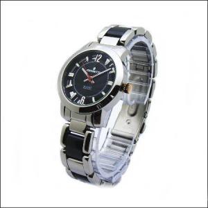 シースルーケースとベルトにセラミック駒のロセッティ【ROSSETTI】レディス腕時計RO-014L-BK|zennsannnet