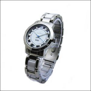 シースルーケースとベルトにセラミック駒のロセッティ【ROSSETTI】レディス腕時計RO-014L-WH|zennsannnet