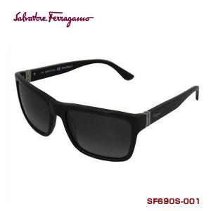 salvatore ferragamo サルバトーレフェラガモ サングラス SF690S-001 BLACK スクエアー系|zennsannnet