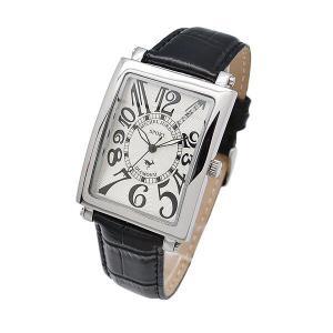 ミッシェルジョルダン MICHEL JURDAIN メンズ腕時計 天然ダイヤ入り スクエアー型 SG3000-7|zennsannnet