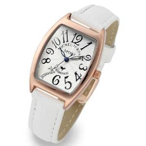 ミッシェルジョルダン MICHEL JURDAIN レディス腕時計 天然ダイヤ入り SL1100-6|zennsannnet