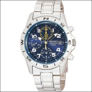 セイコー SEIKO 1/20秒 クロノグラフ メンズ腕時計 SND379P マリンブルーフェイス|zennsannnet