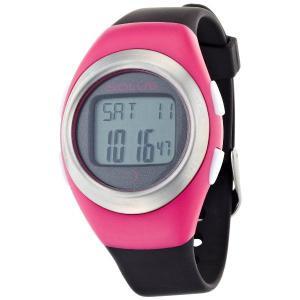 心拍計測 ランニングウォッチ 腕時計 ソーラス SOLUS メンズ腕時計 Leisure 800-206 ピンクxマットブラック zennsannnet