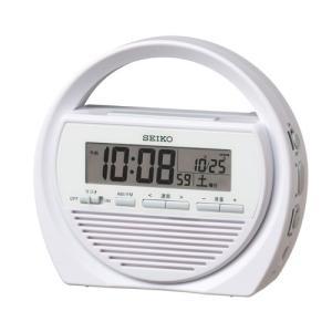 SEIKO CLOCK(セイコークロック) 多機能防災クロック 電波アナログ目覚まし時計 SQ764W|zennsannnet