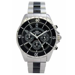 テクノス TECHNOS メンズ腕時計 100m防水 クロノグラフ T3032TB|zennsannnet