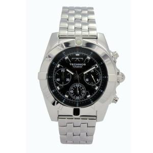 テクノス TECHNOS メンズ腕時計 100m防水 クロノグラフ T3089SB|zennsannnet