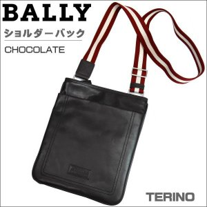 BALLY バリー ショルダーバック CHOCOLATE チョコ TERINO 261 6189939|zennsannnet