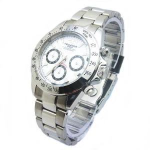 テクノス TECHNOS メンズ腕時計 100m防水仕様 クロノグラフ TGM615-SW|zennsannnet