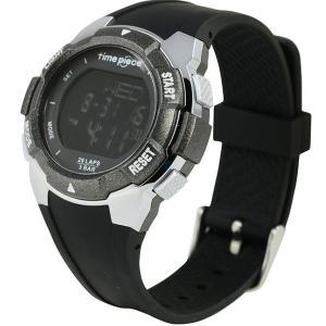 ランニングウォッチ 20LAP  デジタル時計 タイムピース Time Piece TPW-004BB|zennsannnet