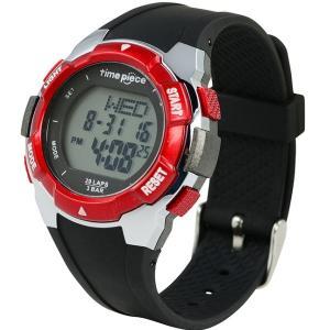 ランニングウォッチ 20LAP  デジタル時計 タイムピース Time Piece TPW-004RD|zennsannnet