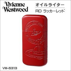 ヴィヴィアン・ウエストウッド  オイルライター レッドラッカー 喫煙具  VW-5313 RD  ギフト プレゼント クリスマス|zennsannnet