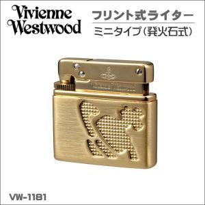ヴィヴィアン・ウエストウッド フリント式ライター喫煙具  VW-1181 G ゴールド ギフト プレゼント クリスマス|zennsannnet