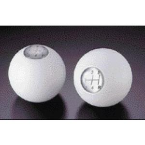 CUSCO/クスコ スポーツシフトノブ 10×1.5 白 球型 品番00B 760 4WW|zenrin-ds