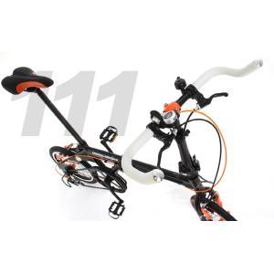 ドッペルギャンガー 16インチ折りたたみ自転車 111 Roadfly(ロードフライ) 送料無料(北海道・沖縄・離島除く) 4582143469099|zenrin-ds