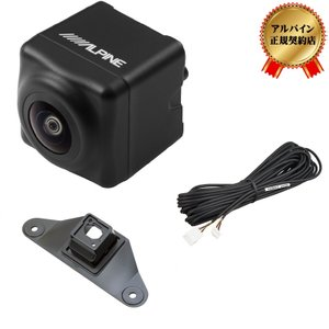 アルパイン(ALPINE) ランドクルーザー プラド 150系 専用 バックビューカメラパッケージ(黒) HCE-C1000D-LP|zenrin-ds