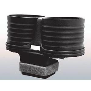 【メーカー直送品】ALCABO/アルカボ ドリンクホルダー ブラック カップタイプ  AL-P202B ポルシェ 911(タイプ991) 右/左ハンドル車 灰皿ナシ車専用|zenrin-ds