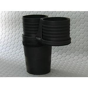 【メーカー直送品】ALCABO/アルカボ ドリンクホルダー ブラック カップ タイプ AUDI (アウディ) A4/S4(B8系) A5/S5(B8系) 右/左ハンドル車 AL-T107B|zenrin-ds