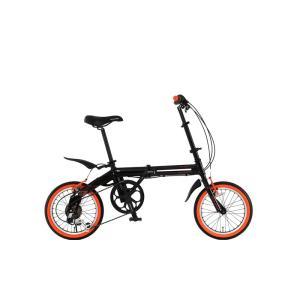 DOPPELGANGER(ドッペルギャンガー) 折りたたみ自転車 FALTRADシリーズ BLACKBULLET II 104-DP 16インチ 軽量アルミフレーム採用モデル 4582143464735|zenrin-ds