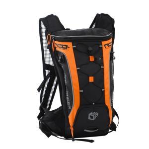 ドッペルギャンガー ナローサイクルバックパックプラス (ブラック×オレンジ) DBM315-BK 4589946134315|zenrin-ds