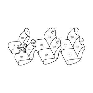 セレナ [H11/6-H15/9][C24] ワイルドステッチ ブラックxホワイト シートカバー|zenrin-ds|02