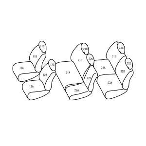 セレナ [H3-H8/12][C23] ベーシックアルファ ホワイトxレッド シートカバー|zenrin-ds|02