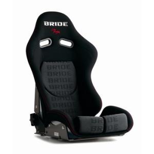 BRIDE リクライニングシート STRADIA2 SPORT ブラックロゴ スタンダードクッション G23HMF|zenrin-ds