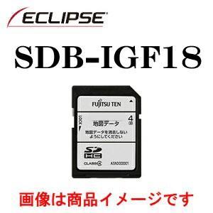 デンソーテン販売 イクリプス(ECLIPSE)  AVN-G01,AVN-G01mkII用地図更新SDカード SDB-IGF18|zenrin-ds