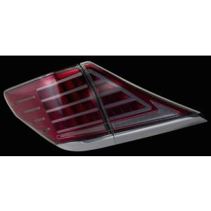 VALENTI ヴァレンティ REVO LEDテール クリア/レッドクローム クロームガーニッシュ 20アル/ヴェル  TT20AVL-CR-C-2 4580277396212 zenrin-ds