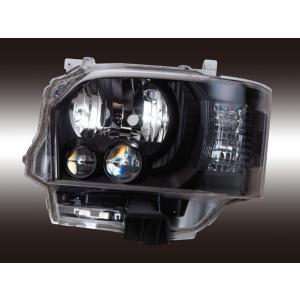 VALENTI ヴァレンティ ヘッドランプ200ハイエース4型純正LOOK LEDクリア/Mブラック 1~4型ハロゲン車  HL200A-CM-4JL1 4580277396526|zenrin-ds