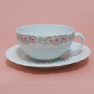 ジョルジュボワイエ Rose Bouquet ローズブーケ カップ&ソーサー|zentrading