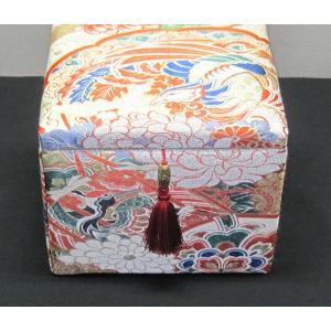 西陣帯小物入れ(大) 西陣織り カード入れ 飾り物 アクセサリー箱|zentrading