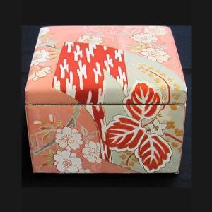 友禅染 小物入れ(中) カード入れ 飾り物 アクセサリー箱|zentrading
