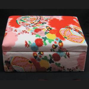 友禅染 小物入れ(大) カード入れ 飾り物 レターボックス アクセサリー箱|zentrading