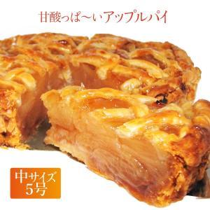 スイーツ ケーキ 上信越高原 今井農園の紅玉りんごを使用 昔ながらの甘酸っぱ〜いアップルパイ 5号|zenzaemon