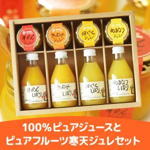 ギフト 伊藤農園 100%ピュアジュース &ピュアフルーツ寒天ジュレ セット ゼリー|zenzaemon